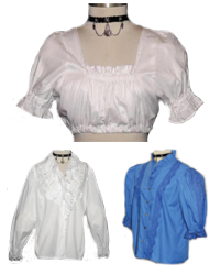 ladies lace blouses and crop tops