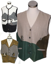 mens vests wool leather and more