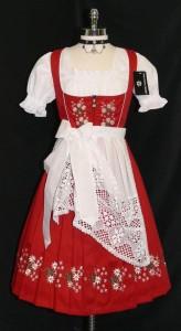 dirndl-red